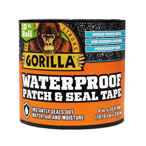 Waterproof Patch and Seal Tape Black