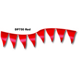 12 X 18 PENNANT FLAG RED 60 FT ROLL