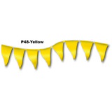 12 X 18 PENNANT FLAG YELLOW 105 FT ROLL