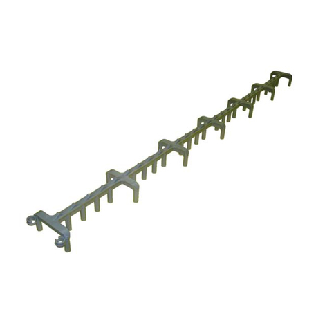 1 1 2in Plastic Slab Bolster Slab Bolsters Forming Accessories And Hardware Shop Ram Tool Construction Supply Company