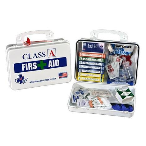 50# CONSTRUCTION FIRST AID KIT POLY