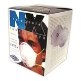 DBL STRAP DUST MASK W/VALVE 10 EA/BOX